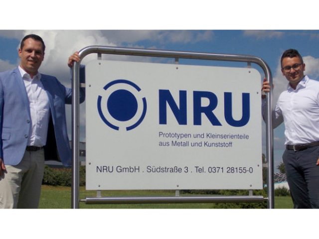 Visit by Rico Anton, Member of the State Parliament, to the NRU GmbH plant