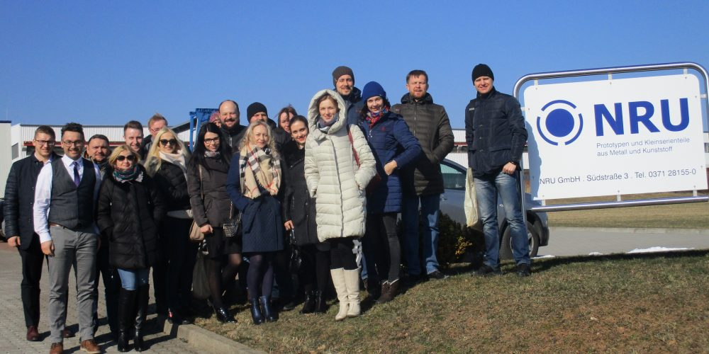Visit of a Belarusian business delegation to the NRU GmbH site