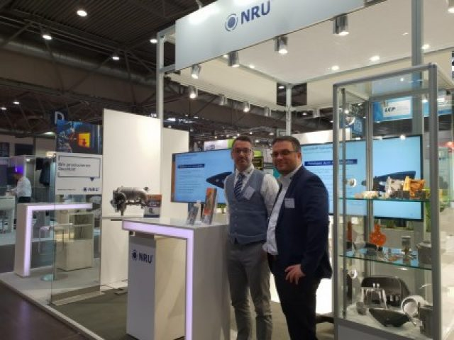 NRU at the Z and INTEC supplier fair in Leipzig